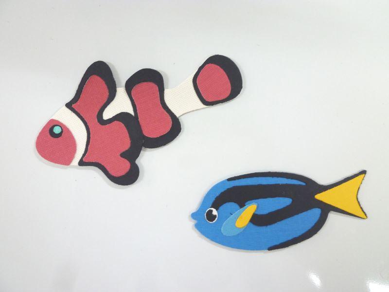LA♪Cutz  100x100-004 Anemone Fish