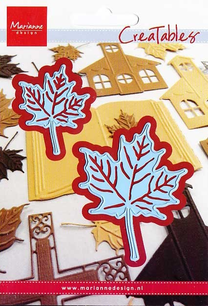 Marianne Design Creatables - LR0255 Maple Leaves with Veins