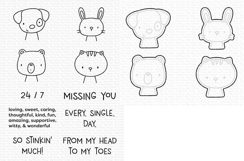 Die-namics - MFT-1883+CS-523 Missing You Every Single Day セット♪