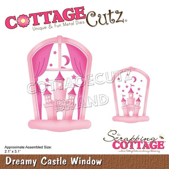 CottageCutz - CC-598 Dreamy Castle Window