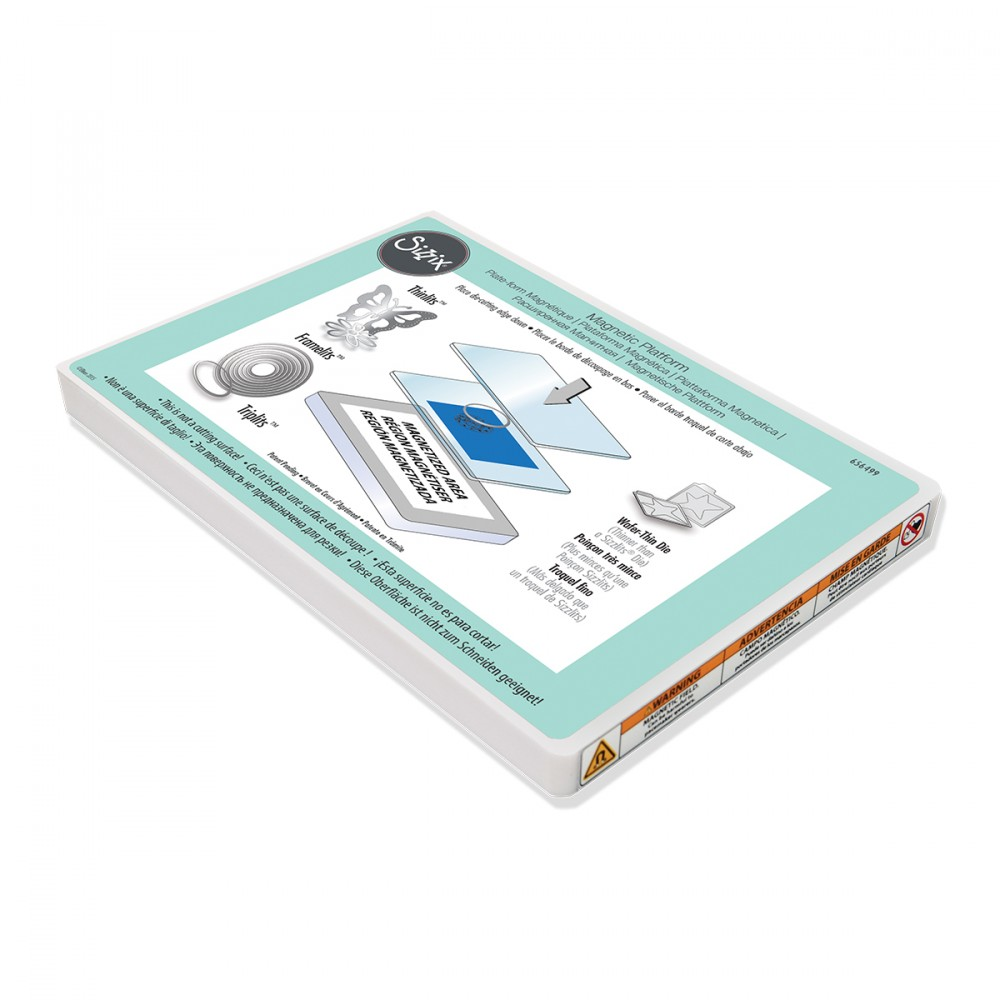 Sizzix 656499 Accessory - Magnetic Platform for Wafer - Thin Dies