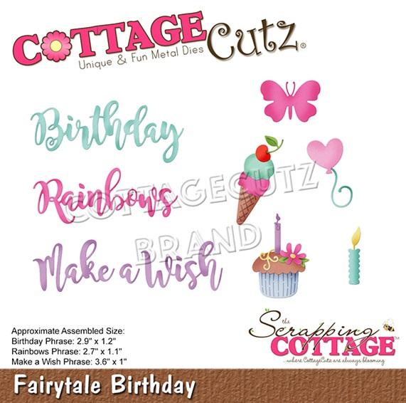 CottageCutz - CC-599 Fairytale Birthday