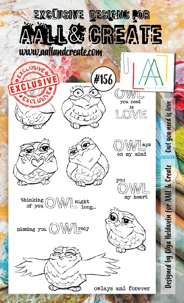 AALL & Create Stamp A6 - #156