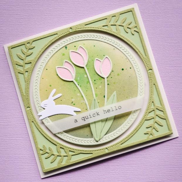 Memory Box Die  -  94216 Springtime Tulips