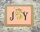 Frantic Stamper Precision Dies - 10342 JOY letters