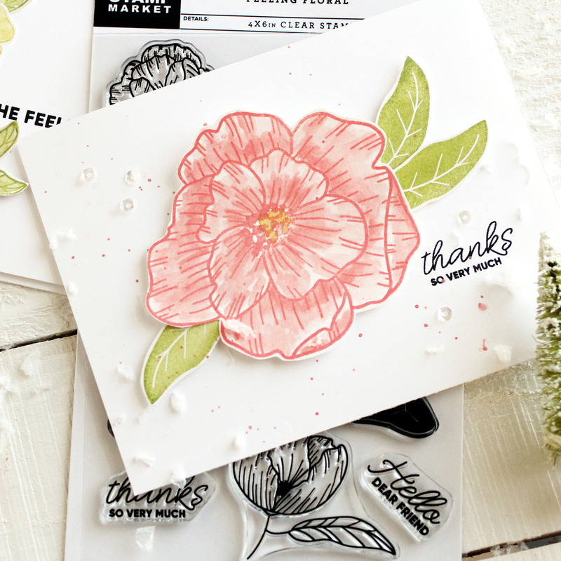 The Stamp Market Stamp - Feeling Floral