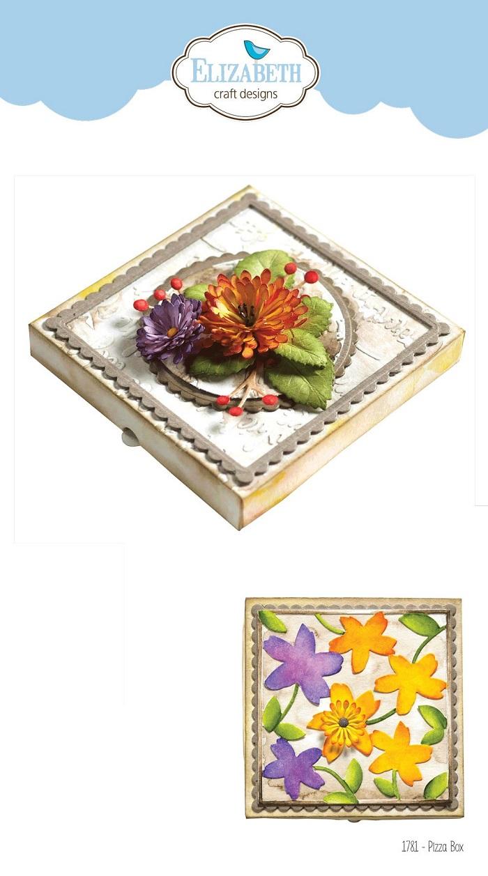 Elizabeth Craft Die - EC1781 Pizza Box