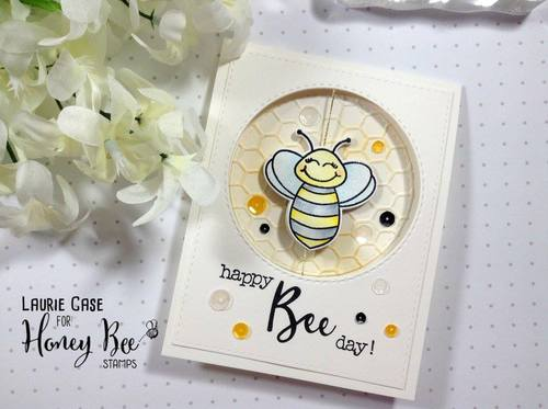 Honey Bee Stamps - Build-A-Bee