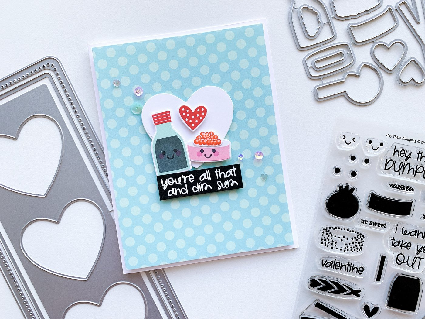 Catherine Pooler Clear Stamp - CPS1088 Hey There Dumpling