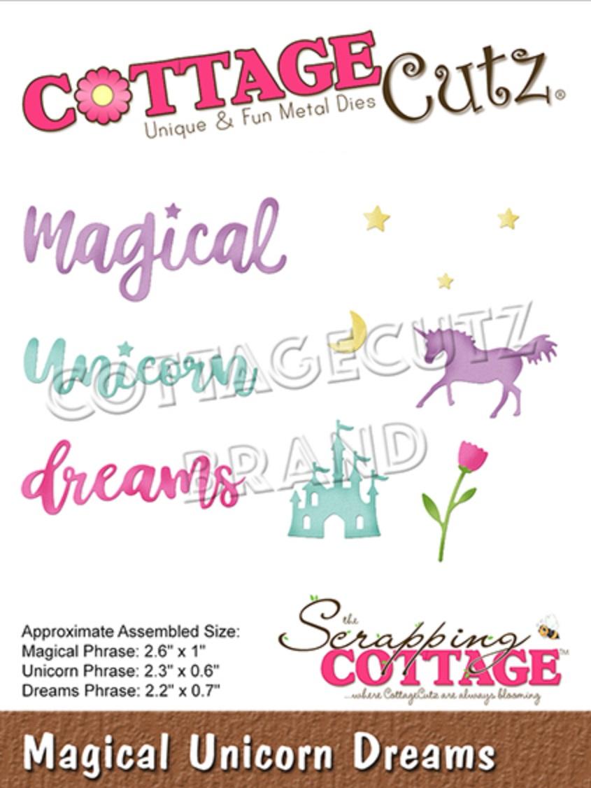 CottageCutz - CC-606 Magical Unicorn Dreams