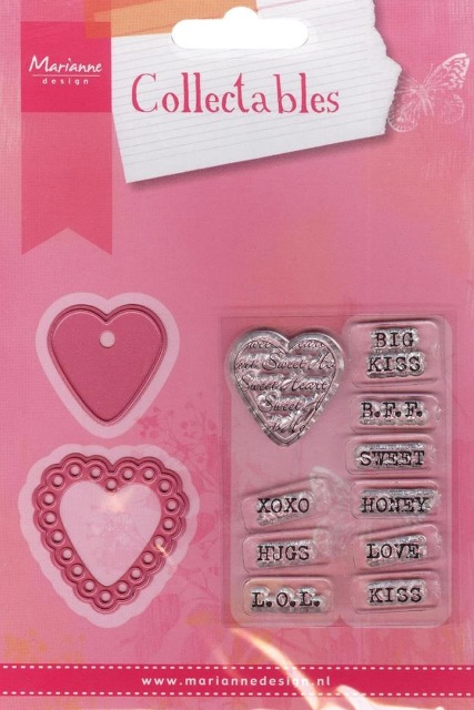 Marianne Design Collectable - COL1307 Candy Heart GB