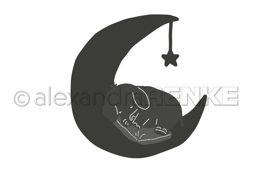 Alexandra Renke Die - D-AR-Ki0022 Elephant on the moon