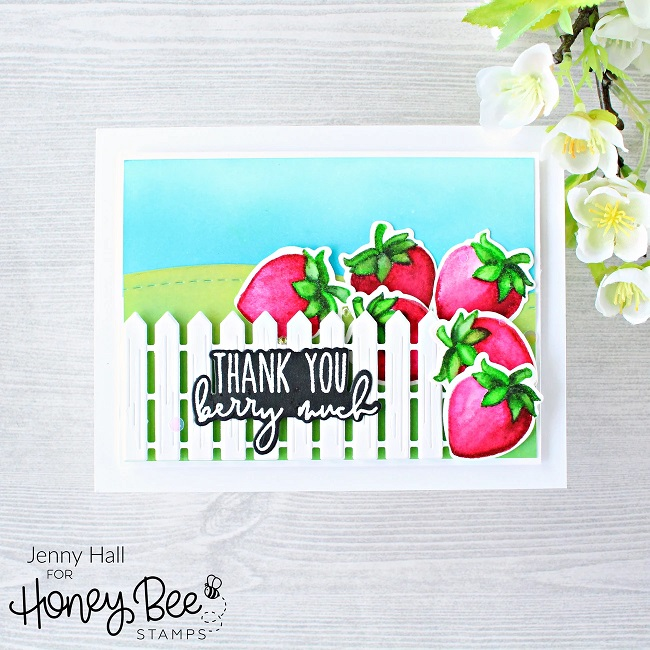 Honey Bee Stamps - Stamps Freshly Picked