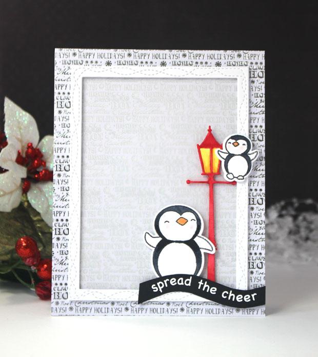 Memory Box Die  -  94041 Holiday Lamp Post