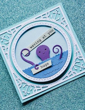 Memory Box Die  -  94227 Happy Octopus