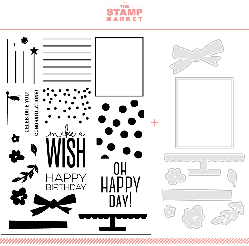 The Stamp Market セット♪ - Birthday Wishes