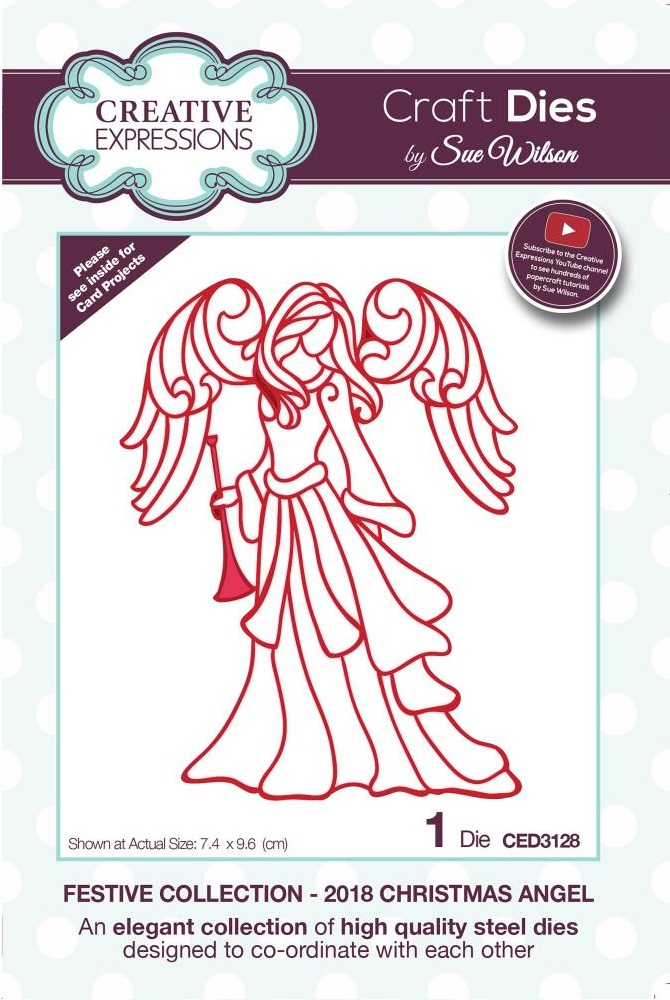 Creative Expressions Die - CED3128 Christmas Angel