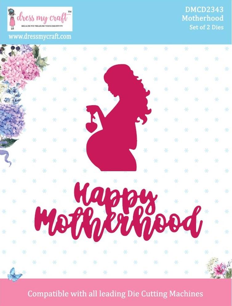 Dress My Craft Die - DMCD2343 Motherhood