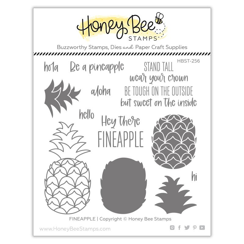 Honey Bee Stamps - Stamps Fineapple