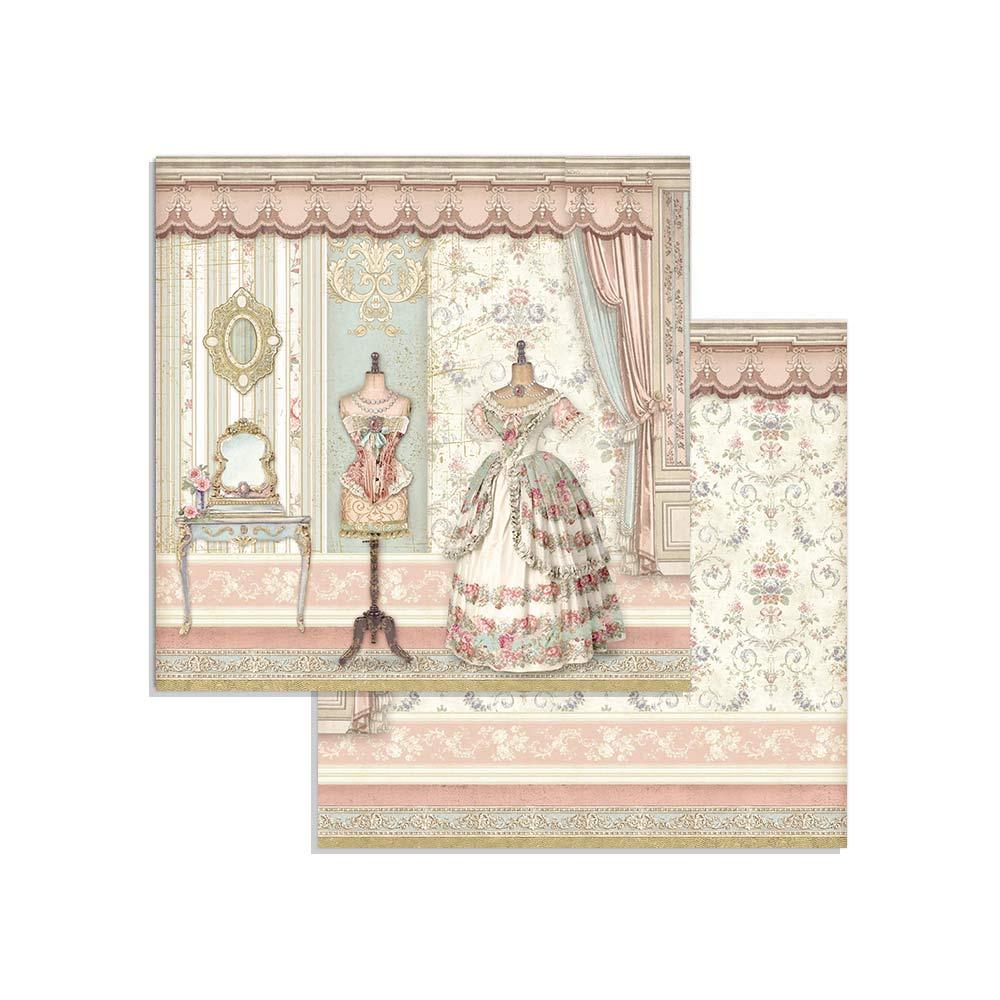 Stamperia Paper Pad 8×8 - SBBS18 Princess