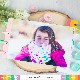 Waffle Flower Die - 310347 A2 Disc Bound