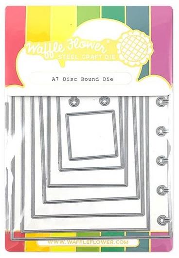 Waffle Flower Die - 310348 A7 Disc Bound