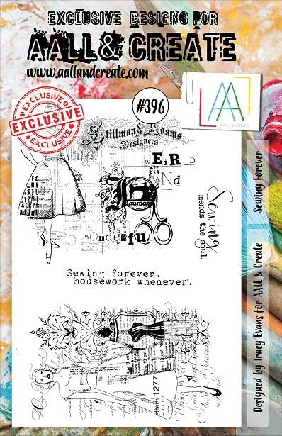 AALL & Create Stamp A5 - #396