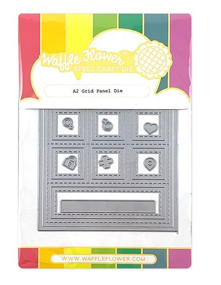 Waffle Flower Die - 310208 A2 Grid Panel