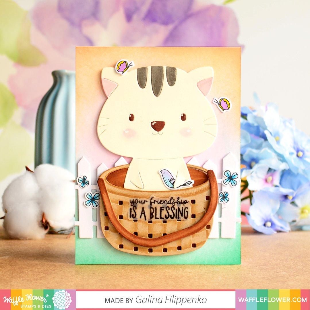 Waffle Flower Die - 310378 Spring Basket