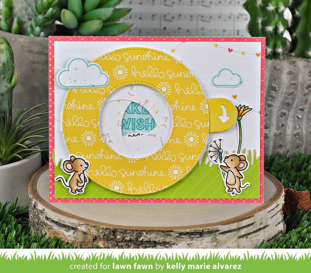 Lawn Fawn LawnCuts LF2238 Magic Iris