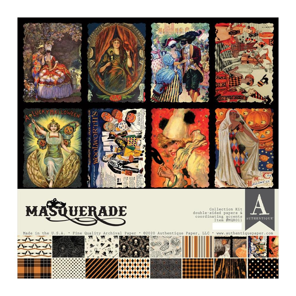 Authentique Collection Kit 12×12 - MQR011 Masquerade