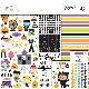 Doodlebug 12×12 - 6539 Essentials Page Kit Candy Carnival