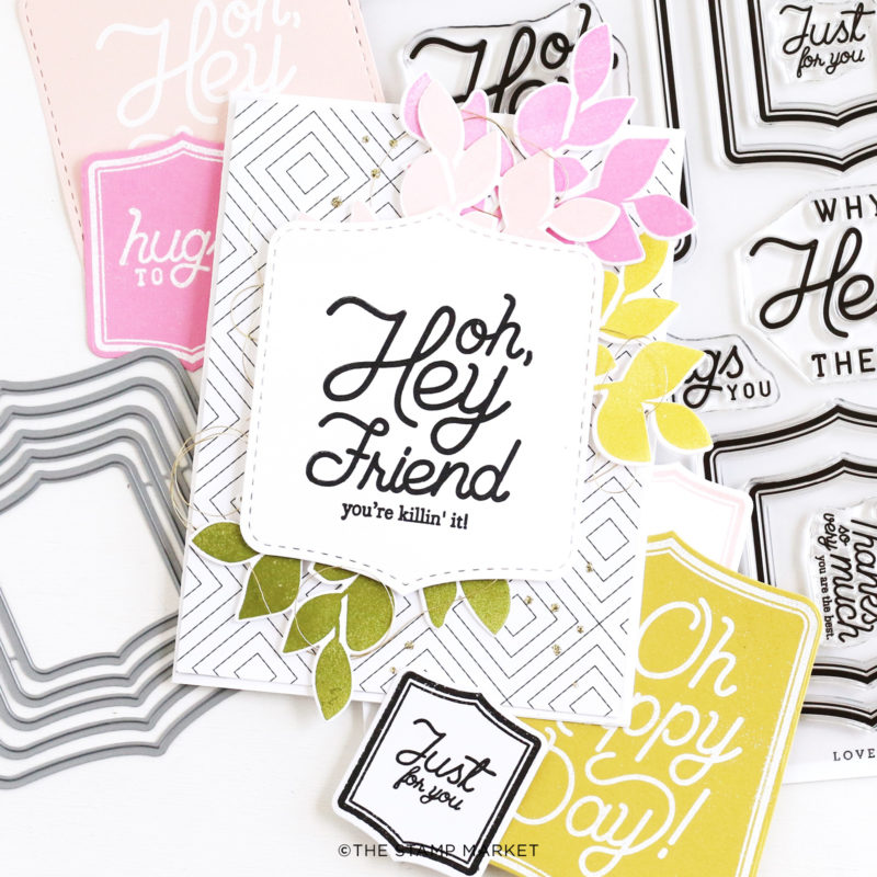 The Stamp Market Stamp - Lovely Labels