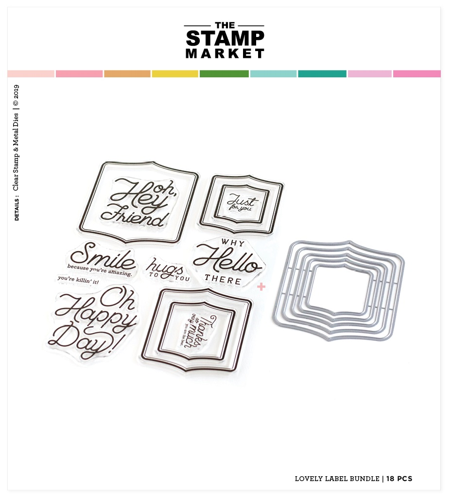 The Stamp Market セット♪ - Lovely Labels