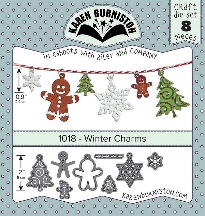 Karen Burniston Die - 1018 Winter Charms