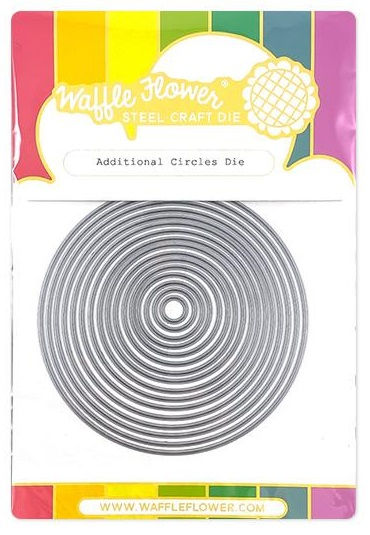 Waffle Flower Die - 310382 Additional Circles