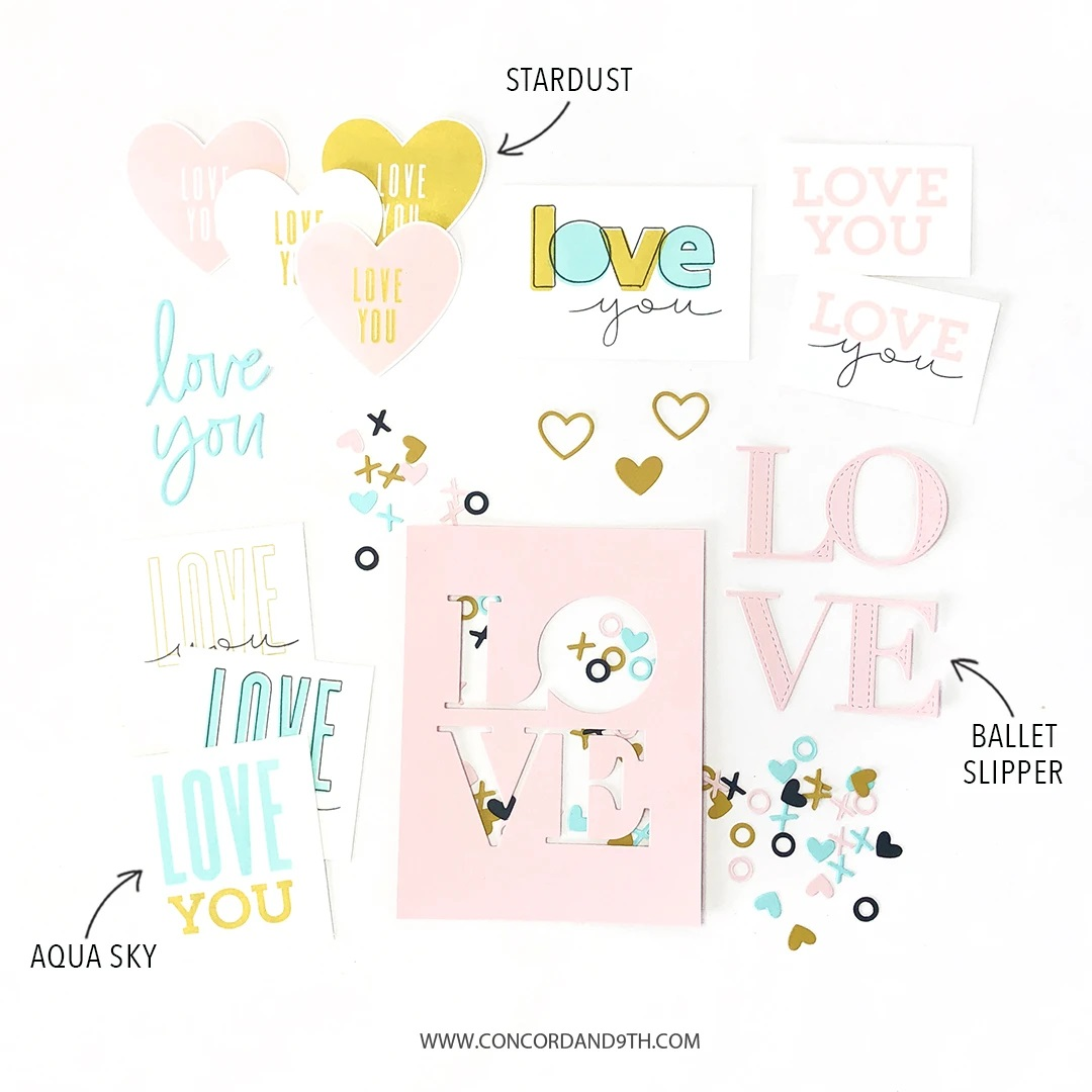 Concord & 9th Stamp - All the Love