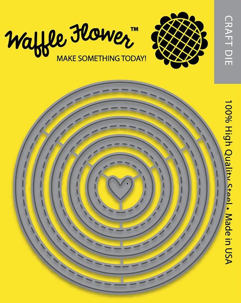 Waffle Flower Die - 310206 Nesting Circles 1