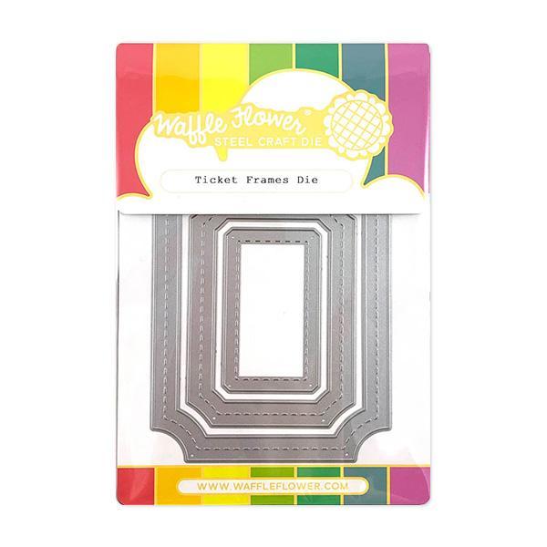 Waffle Flower Die - 310286 Ticket Frames
