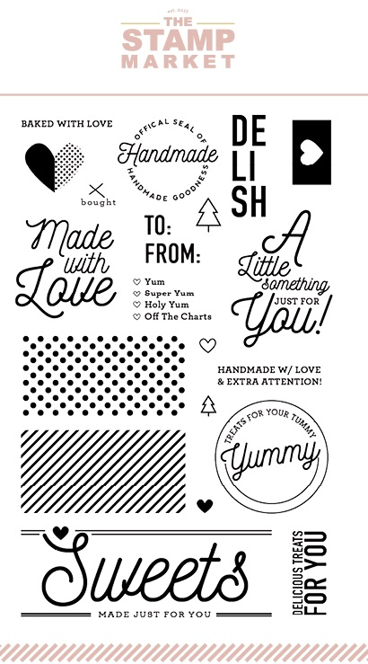 The Stamp Market Stamp - Made with Love