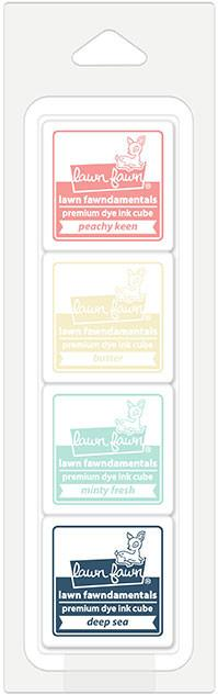 Lawn Fawn Mini Ink Cube Pack - LF1531 Ice Cream Parlor