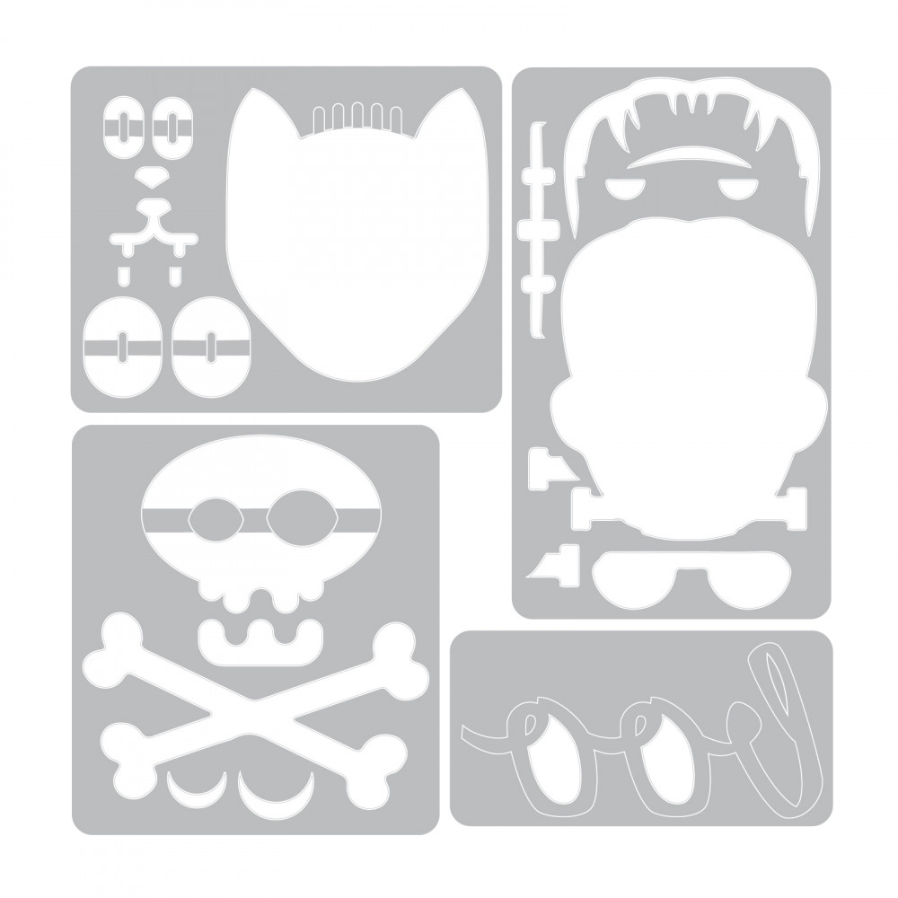 Sizzix Sidekick Side-Order Set 663072 Halloween by Tim Holtz