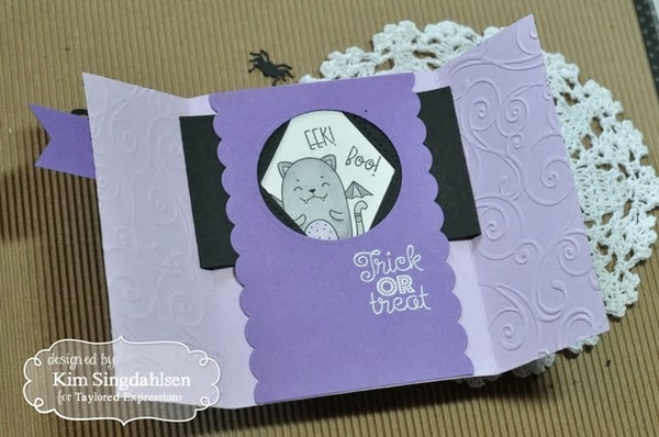 Taylored Expressions Stamp - TEMS164 Handlettered Halloween