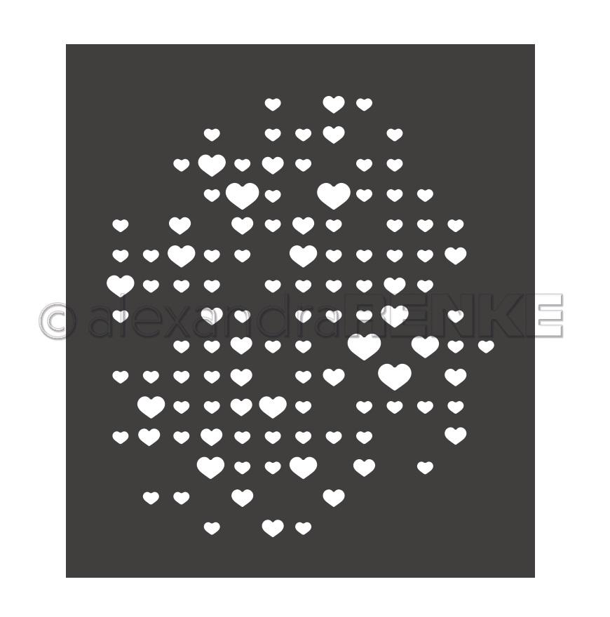 Alexandra Renke Die - D-AR-MU0022 Heart-Grid
