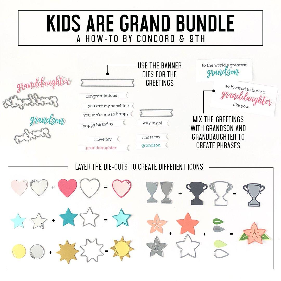Concord & 9th Stamp - Kids Are Grand