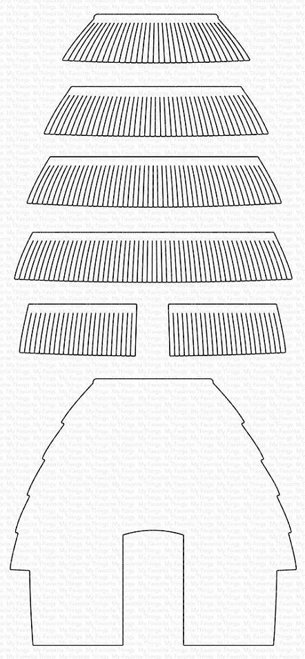 Die-namics - MFT-1813 Tiki Hut