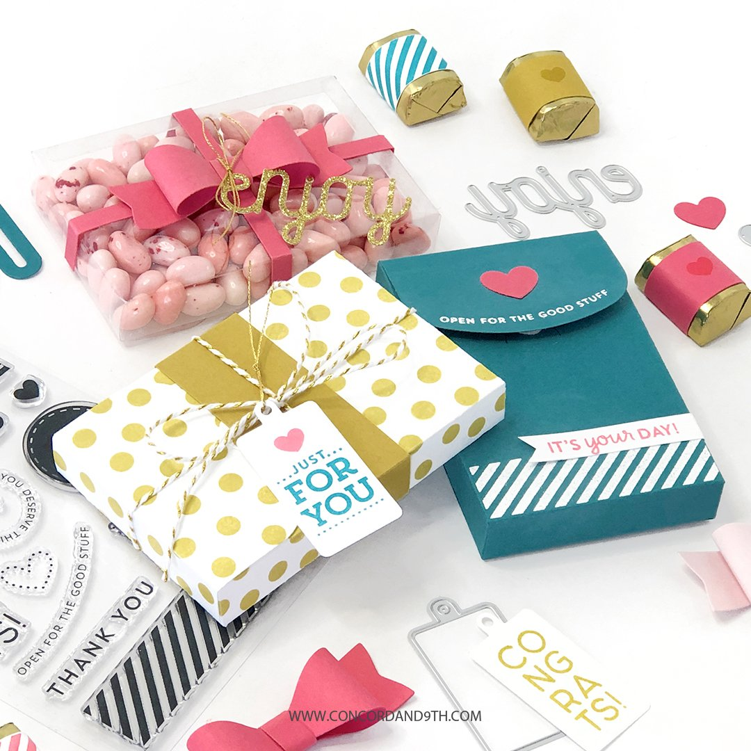 Concord & 9th Stamp - Mini Gift Box