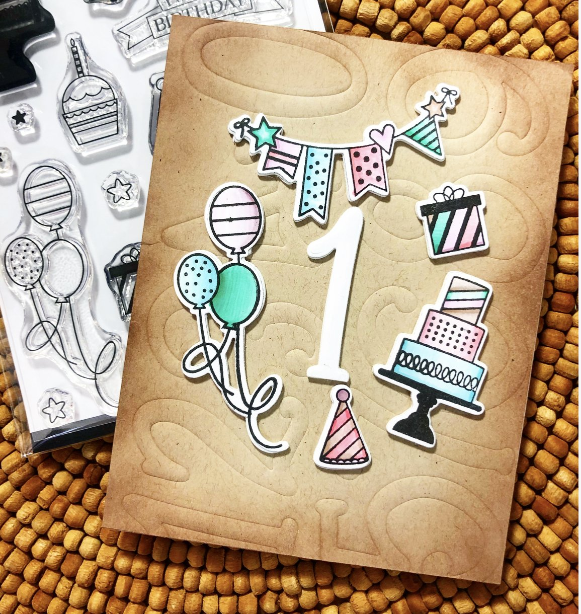 Catherine Pooler Clear Stamp - UCAP0115 Birthday Icons