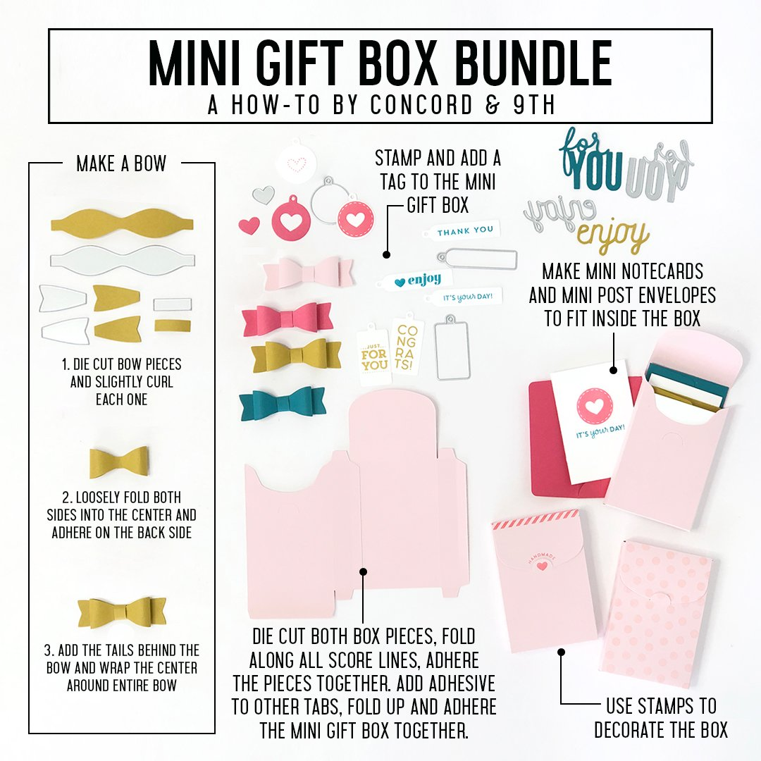 Concord & 9th Die - Mini Gift Box