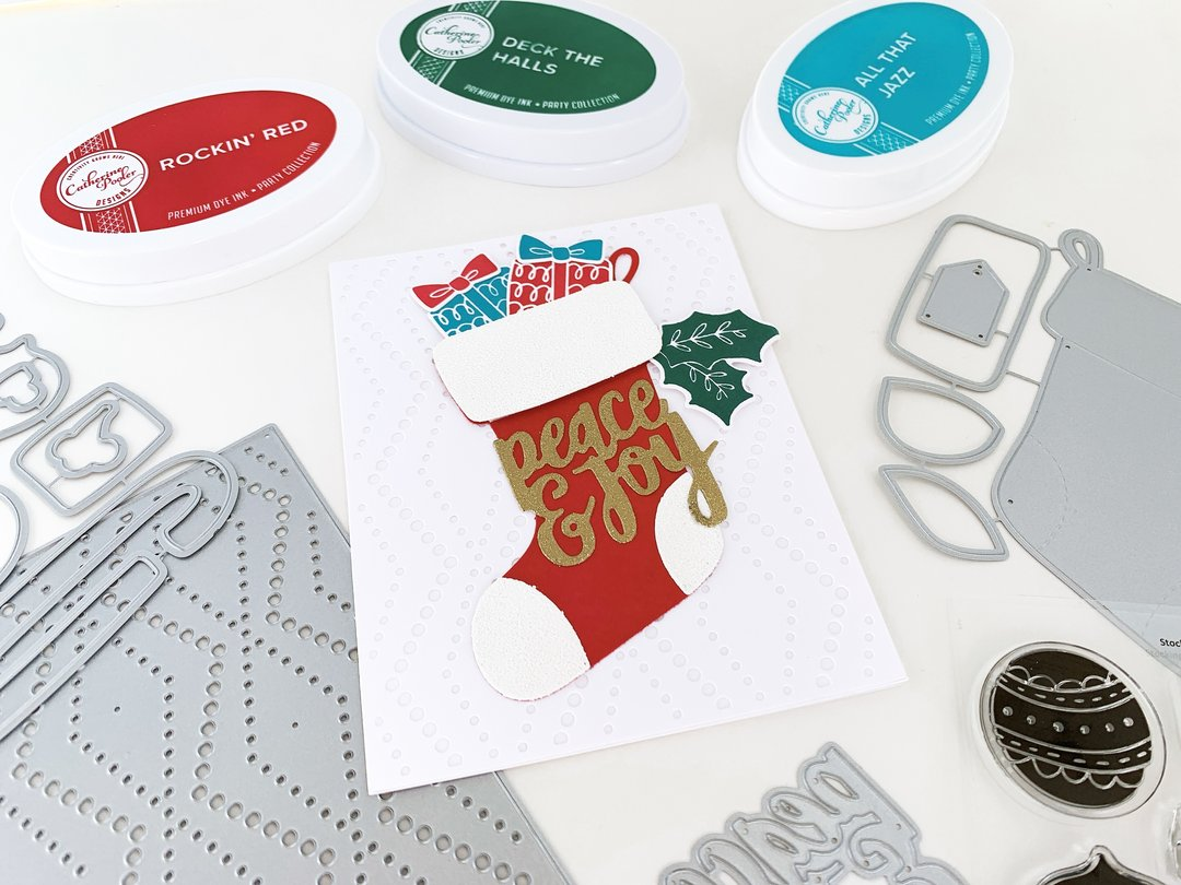 Catherine Pooler Clear Stamp - CPS1062 Stocking Stuffer